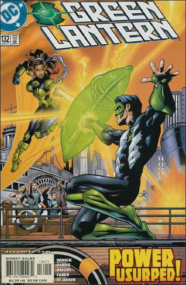 Green Lantern (1990) 132-A by DC