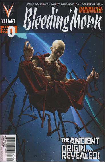 Harbinger: Bleeding Monk 0-B by Valiant Entertainment