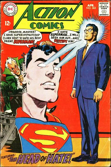 Action Comics (1938) 362-A by DC