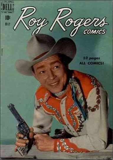 Roy Rogers Comics 29-A by Dell