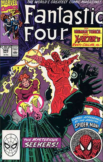 Fantastic Four (1961) 342-A by Marvel