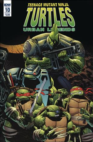 Teenage Mutant Ninja Turtles: Urban Legends 10-B