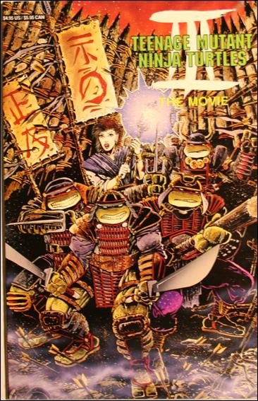 Teenage Mutant Ninja Turtles III: The Movie 1-B by Archie
