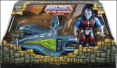 Masters of the Universe Classics (Vehicles and Accessories) Sky High with Jet Sled by Mattel