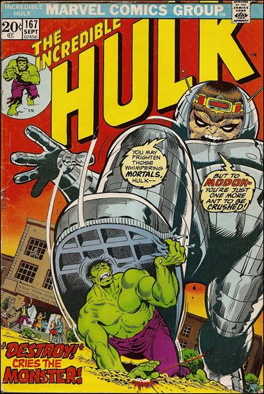Incredible Hulk (1968) 167-A by Marvel
