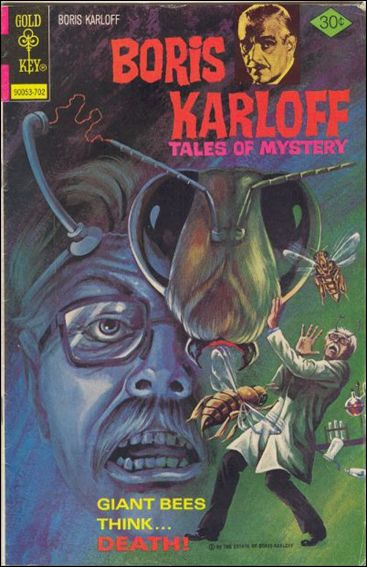 Boris Karloff Tales of Mystery 73-A by Gold Key