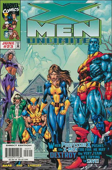 X-Men Unlimited (1993) 23-A by Marvel