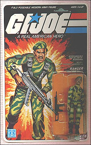 "G.I. Joe: A Real American Hero 3 3/4"" Basic Action Figures Stalker (Ranger) by Hasbro"