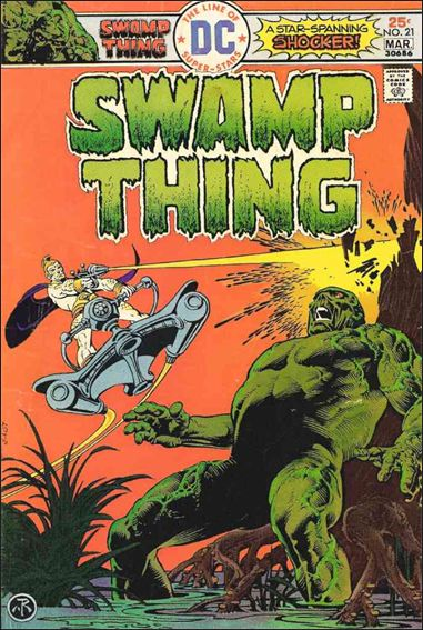 Swamp Thing (1972) 21-A by DC