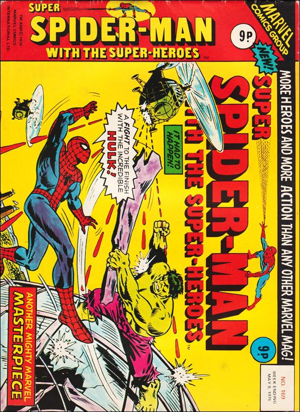 Spider-Man: Comics Weekly (UK) 169-A by Marvel UK