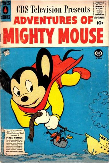 Adventures of Mighty Mouse (1956) nn 7-A by Pines