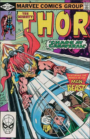 Thor (1966) 317-A by Marvel