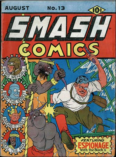 Smash Comics (1939) 13-A by Quality