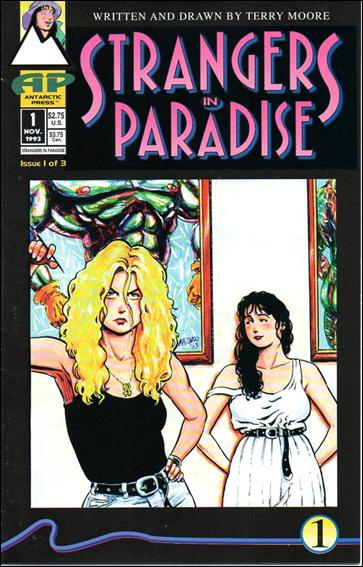 Strangers in Paradise (1993) 1-C by Antarctic Press