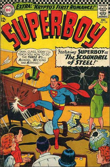 Superboy (1949) 134-A by DC