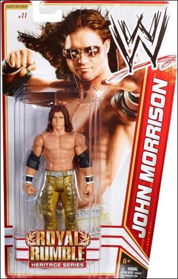 WWE Superstars (2012) John Morrison by Mattel