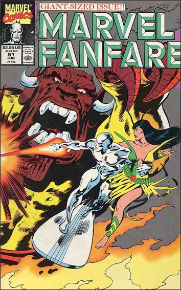 Marvel Fanfare (1982) 51-A by Marvel