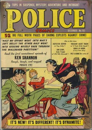 Police Comics 103-A by Comic Magazines