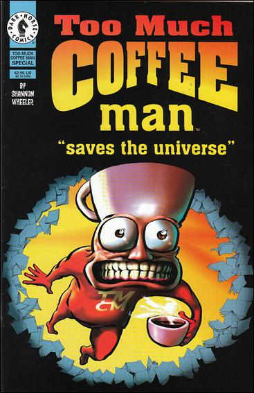 Too Much Coffee Man Special 1-A by Dark Horse