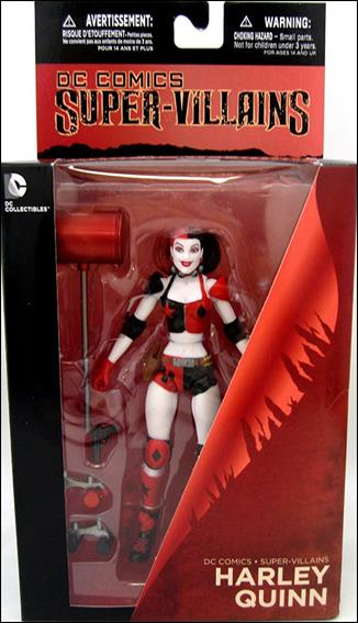 DC Comics Super Villains Harley Quinn (Roller Derby) by DC Collectibles