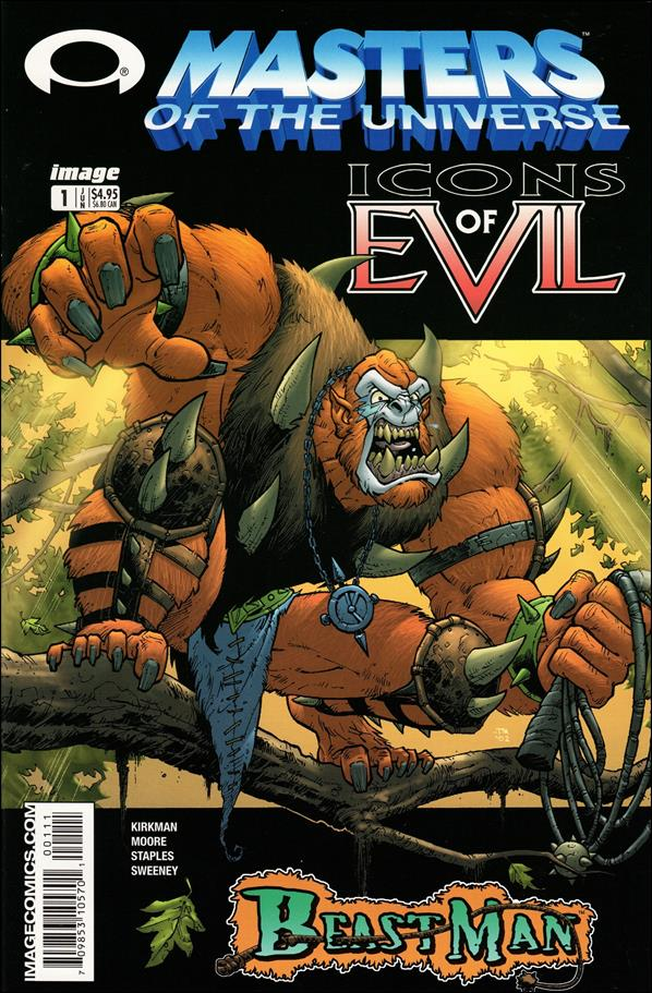 Masters of the Universe, Icons of Evil: Beast Man 1-A by Image