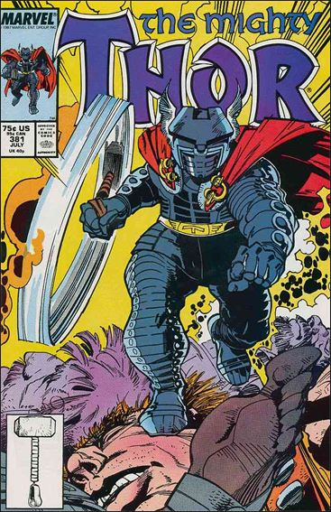Thor (1966) 381-A by Marvel