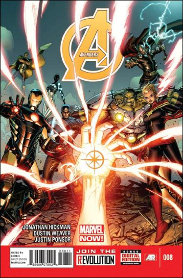 Avengers (2013) 8-A by Marvel