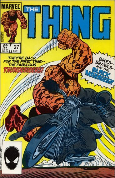 Thing (1983) 27-A by Marvel