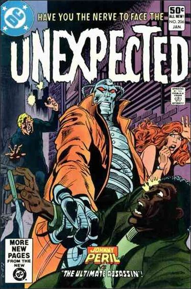Unexpected (1968) 206-A by DC