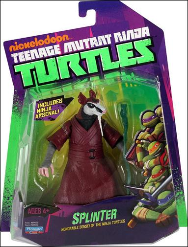 Teenage Mutant Ninja Turtles Splinter Jan 2012 Action Figure By