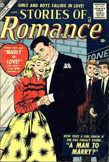 Stories of Romance 12-A by Marvel