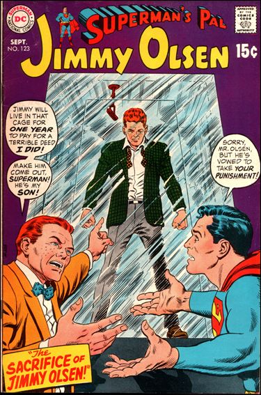 Superman's Pal Jimmy Olsen 123-A by DC