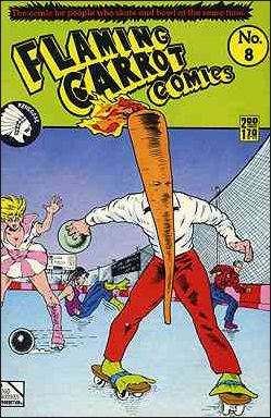 Flaming Carrot Comics (1984) 8-A by Dark Horse
