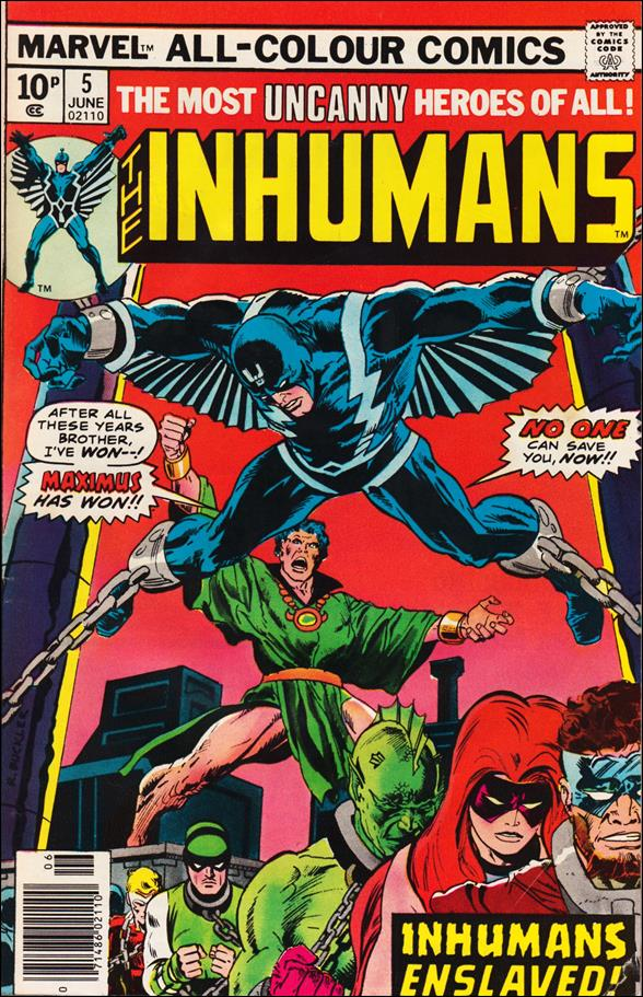 Inhumans (1975) 5-B by Marvel
