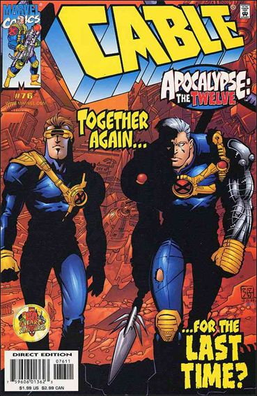 Cable (1993) 76-A by Marvel
