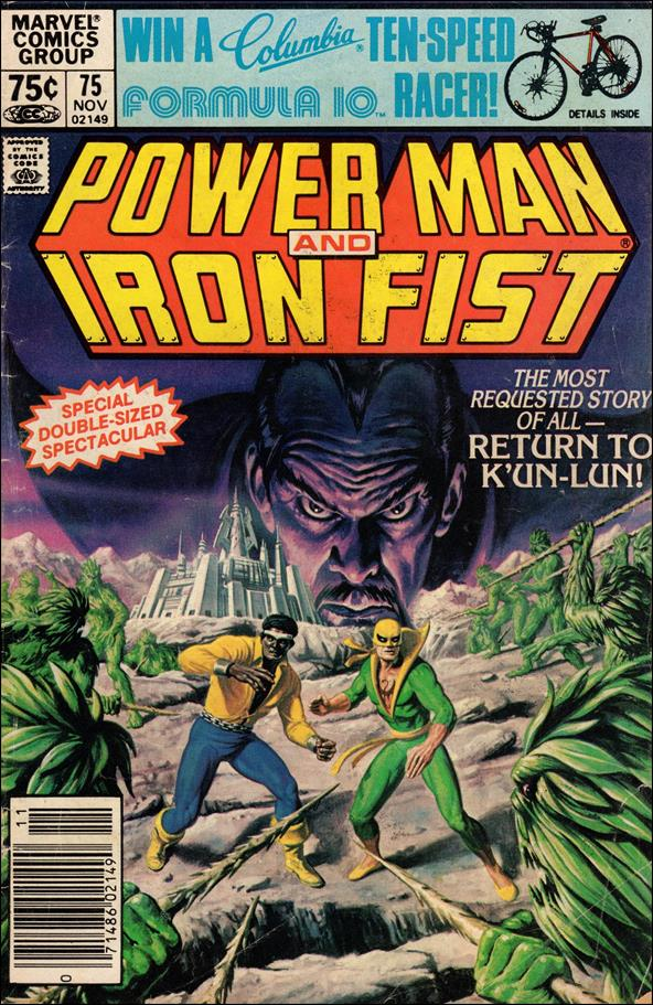 Power Man and Iron Fist (1978) 75-A by Marvel