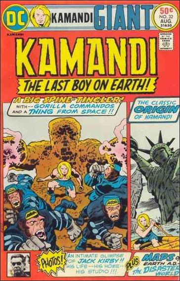Kamandi, the Last Boy on Earth 32-A by DC