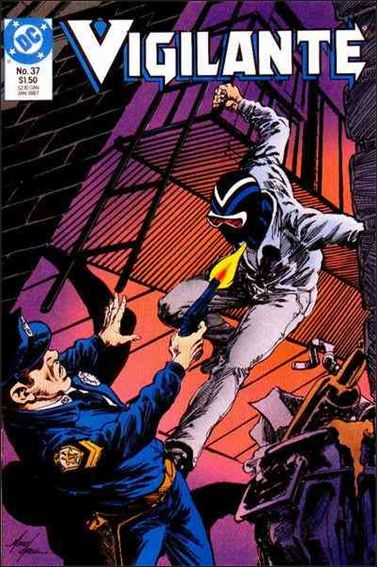 Vigilante (1983) 37-A by DC
