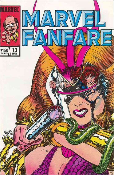 Marvel Fanfare (1982) 13-A by Marvel