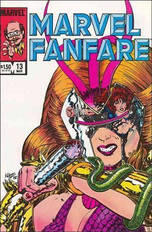 Marvel Fanfare (1982) 13-A