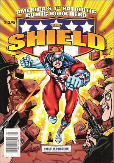 America's 1st Patriotic Comic Book Hero Shield 1-A by Archie