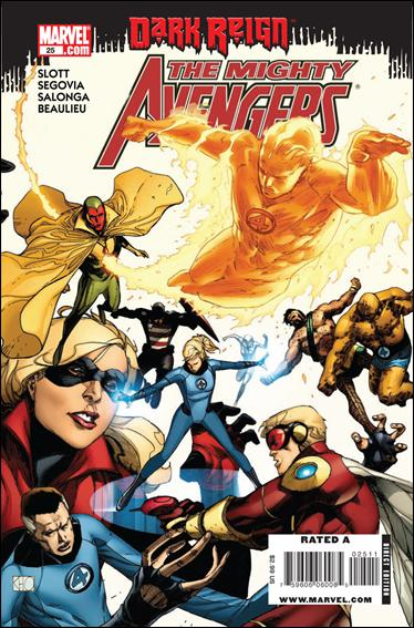 Mighty Avengers 25-A by Marvel