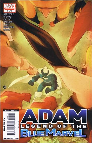 Adam: Legend of the Blue Marvel 5-A by Marvel