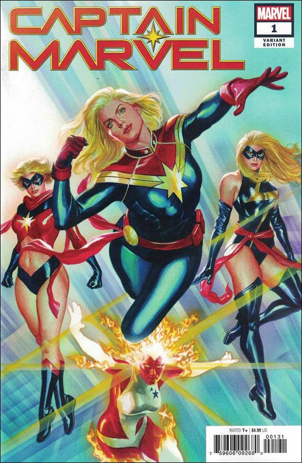Captain Marvel (2019) 1-E by Marvel