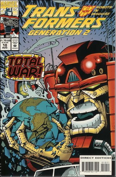 Transformers: Generation 2 10-A by Marvel