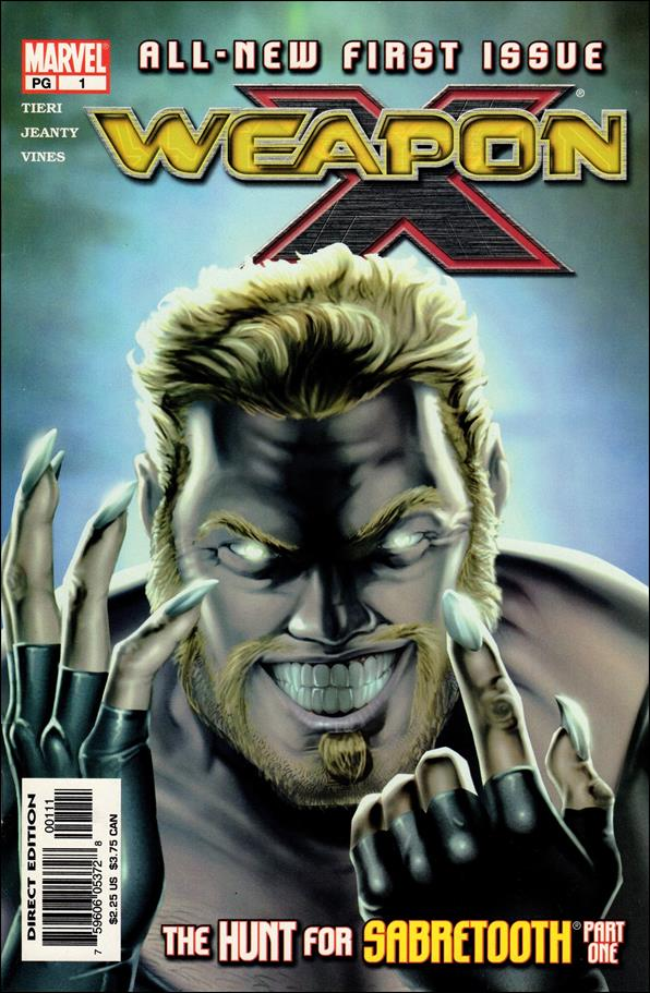 Weapon X (2002) 1-A by Marvel