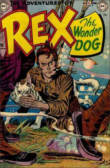 Adventures of Rex the Wonder Dog 9-A by DC