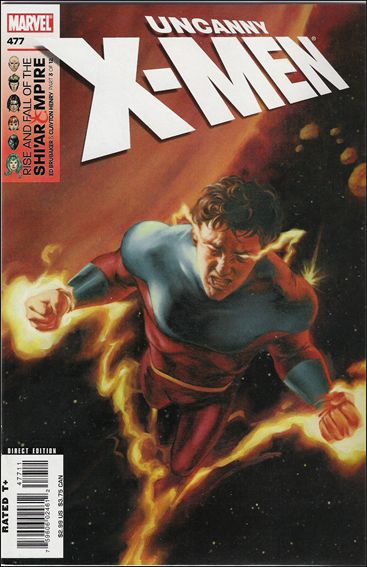 Uncanny X-Men (1981) 477-A by Marvel