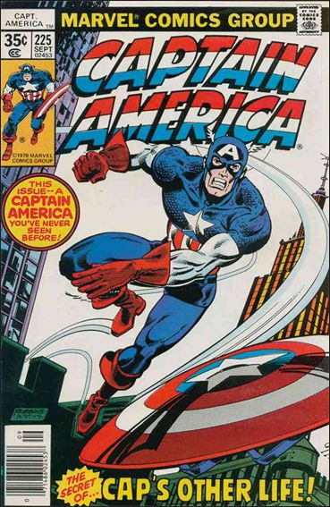 Captain America (1968) 225-A by Marvel