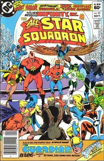 All-Star Squadron 25-A by DC